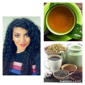 Homemade Herbal tea 🍵 healthier longer hair